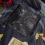 Мешочки для Таро или Рун. Узор Черный №1
