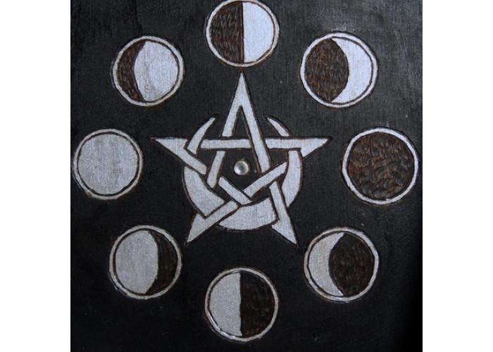 Лунный цикл шкатулка для карт Таро