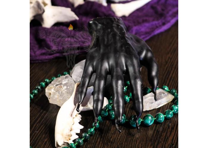 Ведьмина Ладонь или Ладонь Чародейки свеча-ритуал алтарная восковая