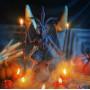Бафомет свеча алтарная восковая