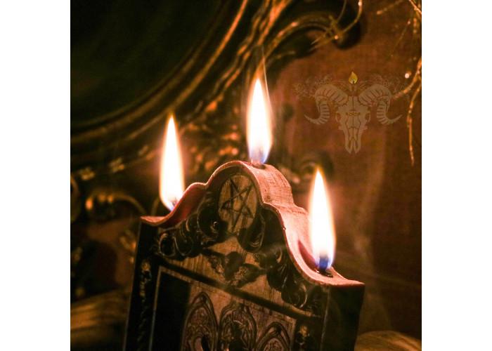Бафомет. Владыка Творения свеча-панно восковая алтарная