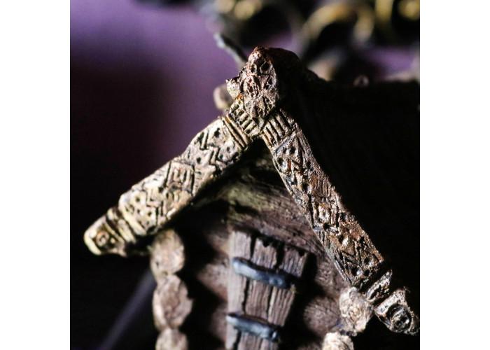 Избушка на Курьих Ножках свеча фигурная восковая