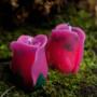 Роза свеча фигурная восковая