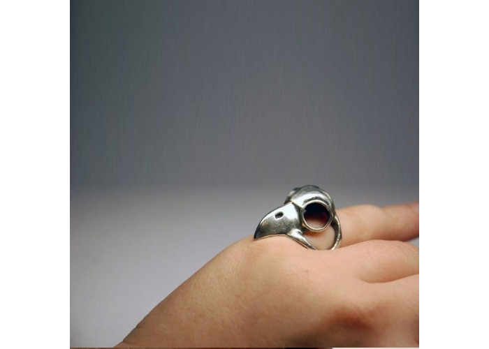 Череп птицы кольцо
