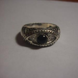 Кольцо с морионом